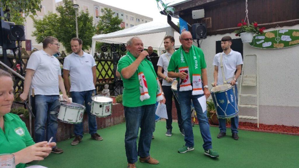 KKH Trommler und KKH Vizeballett (Tanzeinlage)